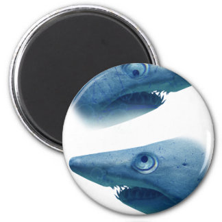 Deep Blue Sea Shark Animals Aqua Magnet