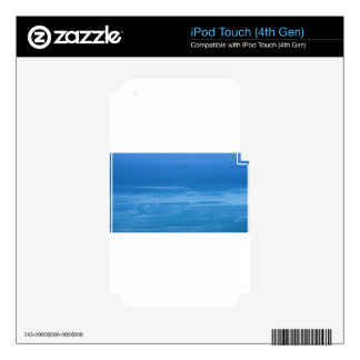deep blue sea iPod touch 4G decals