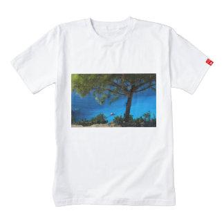 Deep blue sea zazzle HEART T-Shirt