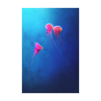 Deep Blue Serenity Canvas Print
