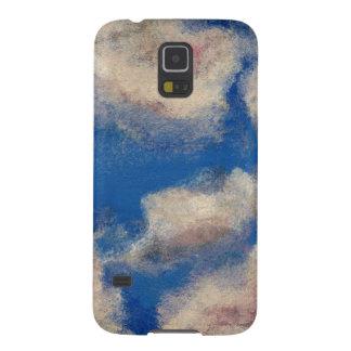 DEEP BLUE SKY (a sky with clouds design) ~ Galaxy S5 Case
