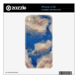 DEEP BLUE SKY ~ DECAL FOR iPhone 4