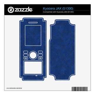 DEEP BLUE SKY (have you ever seen a bluer sky?) ~ Kyocera JAX Decal