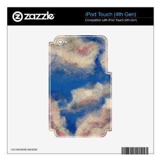 DEEP BLUE SKY ~ iPod TOUCH 4G DECAL