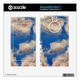 DEEP BLUE SKY ~ DECAL FOR TOSHIBA REGZA