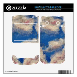 DEEP BLUE SKY ~ DECAL FOR BlackBerry BOLD