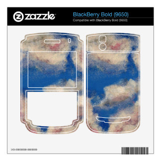 DEEP BLUE SKY ~ BlackBerry DECALS