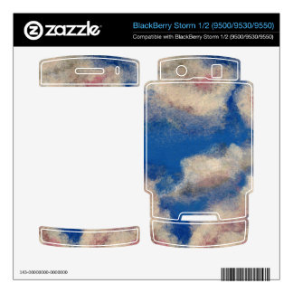 DEEP BLUE SKY ~ BlackBerry STORM SKINS