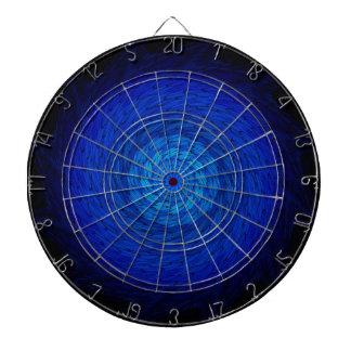 Deep Blue Spiral: Dart Board