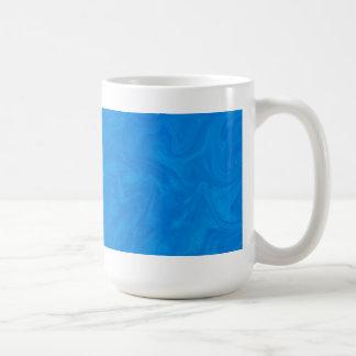 Deep Blue Tonal Abstract Swirled Background Coffee Mug