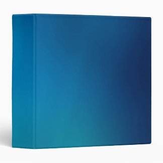 Deep Blue Underwater Glow 3 Ring Binder