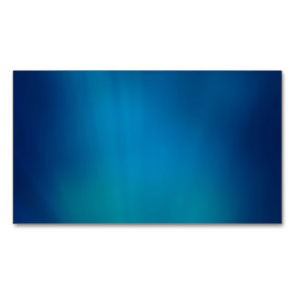 Deep Blue Underwater Glow Business Card Magnet