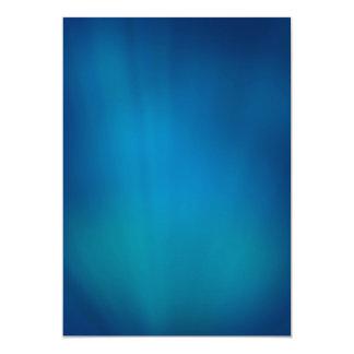 Deep Blue Underwater Glow Card