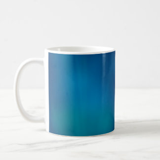 Deep Blue Underwater Glow Coffee Mug