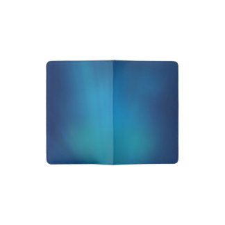 Deep Blue Underwater Glow Pocket Moleskine Notebook