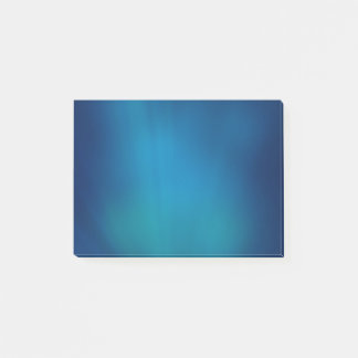 Deep Blue Underwater Glow Post-it Notes