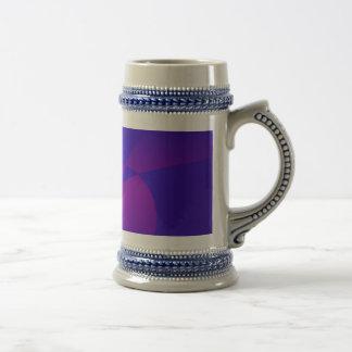 Deep Blue Unstable Abstract Composition Mug