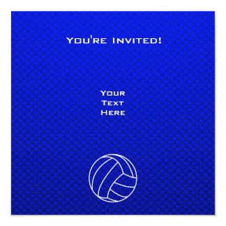 Deep Blue Volleyball Card