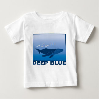 Deep Blue Whale Baby T-Shirt