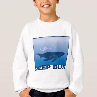Deep Blue Whale Sweatshirt