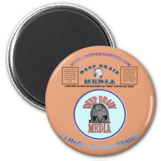 Deep Brain Media 2 Inch Round Magnet