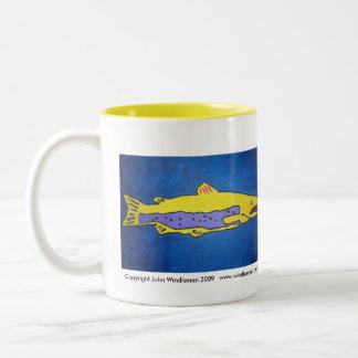 Deep Calm Fish Mugs
