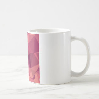 Deep Cerise Purple Abstract Low Polygon Background Coffee Mug