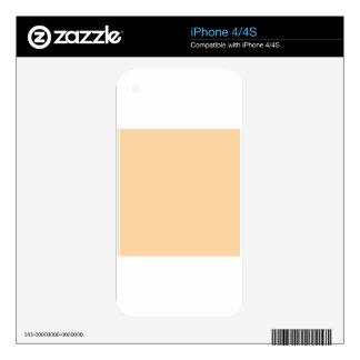Deep Champagne Orange Skin For The iPhone 4