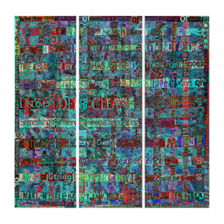 Deep Clean of Chaos No.3 Triptych