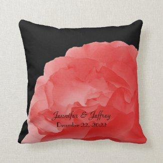 Deep Coral Rose Petals 16