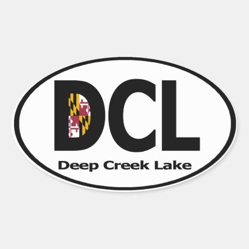 Deep Creek Lake Decal (set of 4) Sticker