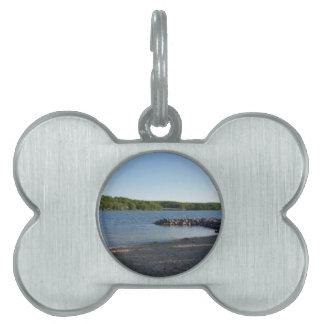 Deep Creek Lake Maryland Pet ID Tag