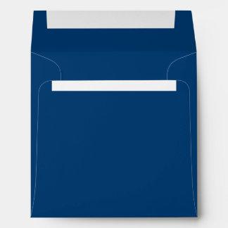 Deep Dark Blue Envelopes