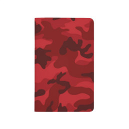 Deep, Dark Red Camo, Camouflage Journal