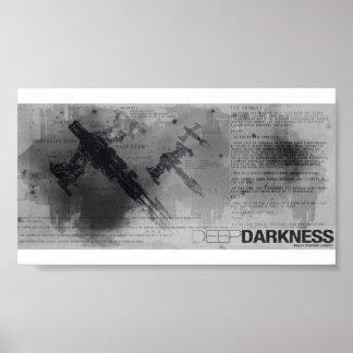 Deep Darkness - Trinity Blueprint Posters
