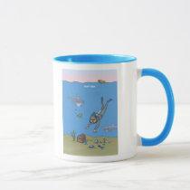 Deep Dish Diver Mug