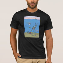 Deep Dish Diver T Shirt