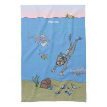 Deep Dish Diver Towel