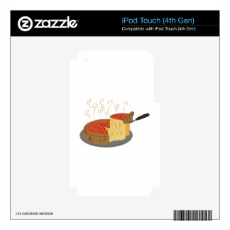 Deep Dish Pizza iPod Touch 4G Skins