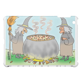 DEEP DISH PIZZA | Witches Cauldron  Cover For The iPad Mini