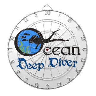 Deep Diver Dartboard With Darts