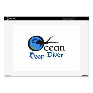 Deep Diver Decals For Laptops