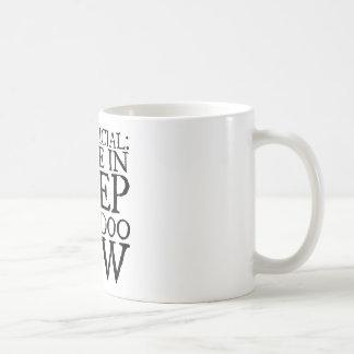 DEEP DOO-DOO in black Coffee Mug