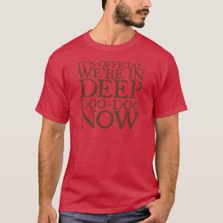 DEEP DOO-DOO in brown T-Shirt