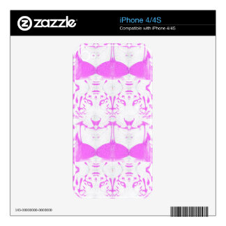 deep dream albino skins for the iPhone 4