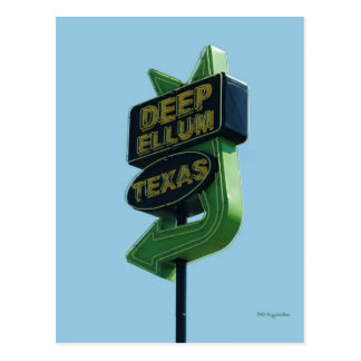 DEEP ELLUM Texas postcard