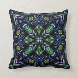 Blue Emerald Pillows Decorative Amp Throw Pillows Zazzle