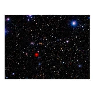 Deep Field Image Galaxy Supercluster Abell 901 902 Postcard