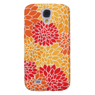 Deep Floral Art Samsung S4 Case