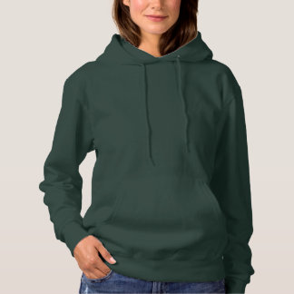 Deep Forest Women's Basic Hooded Sweatshirt